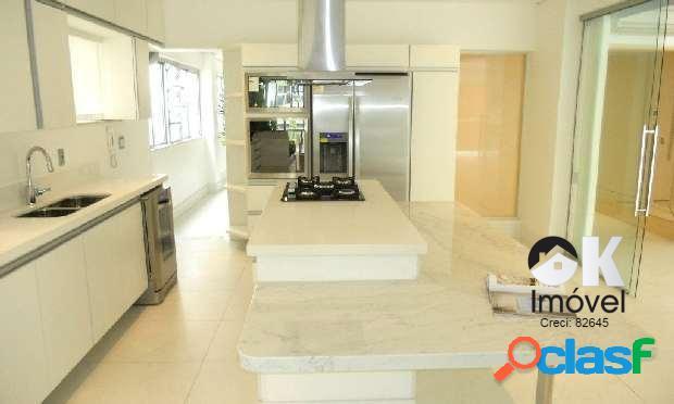 Semi mobiliado: 240m², 3 suítes e 3 vagas – higienópolis
