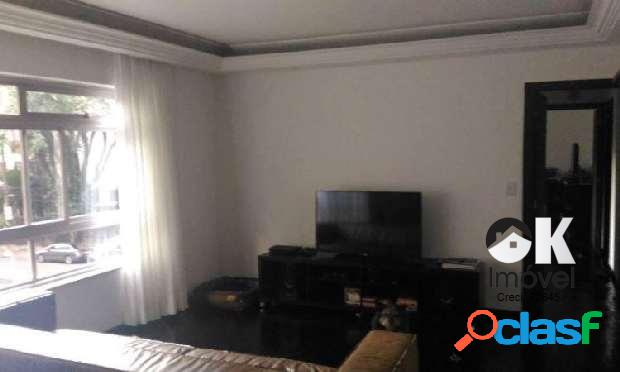 Apartamento: 140m², 3 dormitórios e 1 vaga - higienópolis