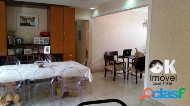 Apartamento: 150m², 3 dormitórios e 1 vaga – higienópolis