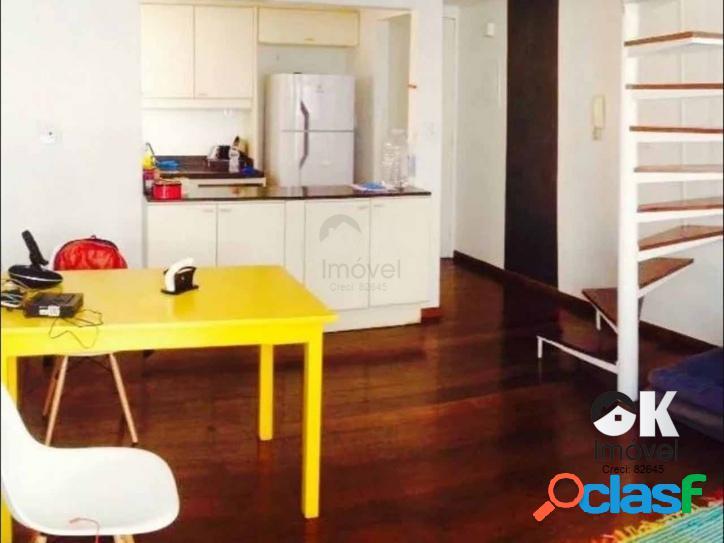 Apartamento: 54m², 1 quarto e 1 vaga – jardim paulista