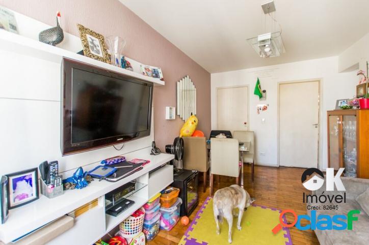 Apartamento: 87m², 2 quartos e 1 vaga – higienópolis