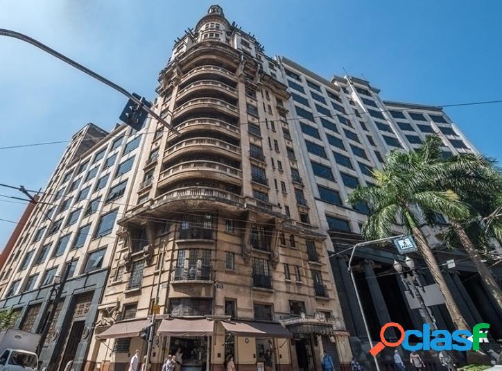 Prédio comercial: 1.541m², 13 andares e 44 salas - centro