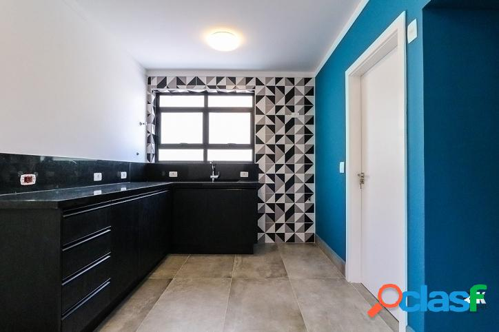 Reformado: 130m², 3 quartos e 1 vaga – higienópolis