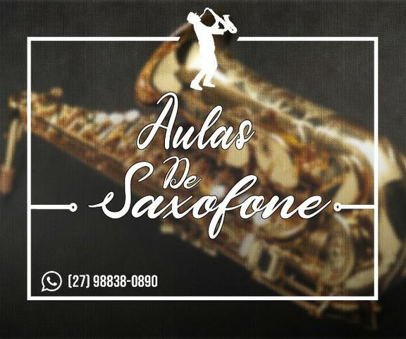 Aula de saxofone particular para iniciantes e avançados