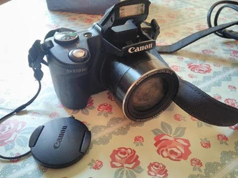 Câmera canon powershot sx 510 hs