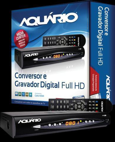 Conversor digital dtv-8000 full hd 1080p