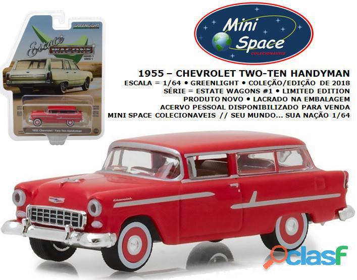 Greenlight 1955 chevrolet two ten handyman 1/64