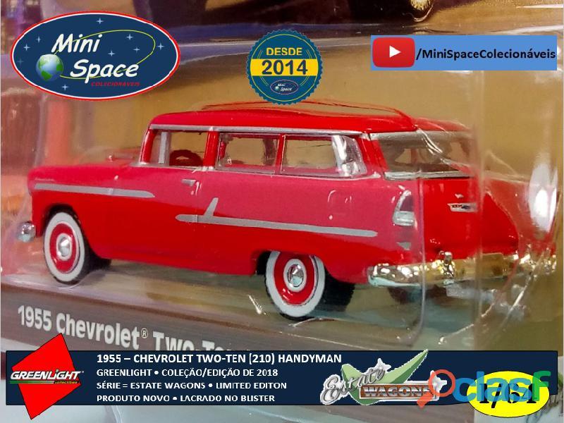 Greenlight 1955 Chevrolet Two Ten Handyman 1/64 5
