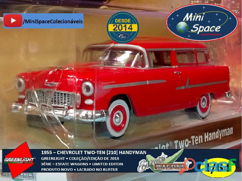 Greenlight 1955 Chevrolet Two Ten Handyman 1/64 2