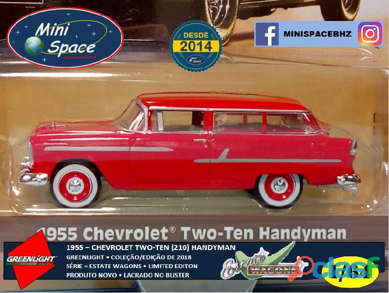 Greenlight 1955 Chevrolet Two Ten Handyman 1/64 1