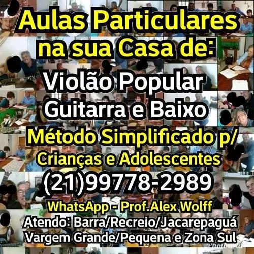 21)99778-2989 aulas particulares violão guitarra rj curso