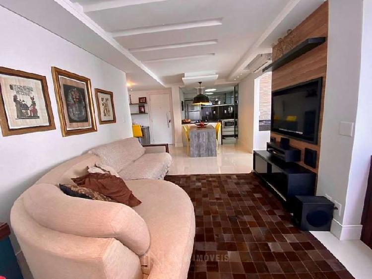 Apartamento 1 suíte + 1 dormitório quadra mar
