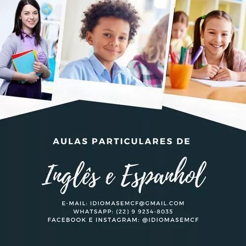 Aprenda inglês e espanhol