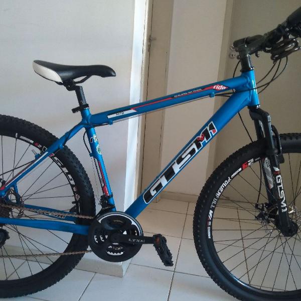 Bicicleta marchas gts m1