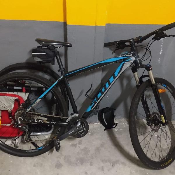 Bicicleta scott aspect 930 com componentes shimano alívio e