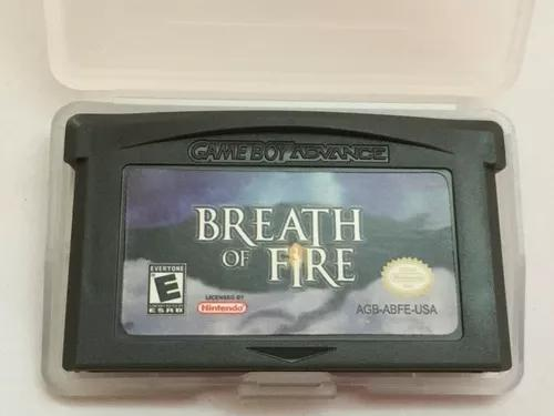 Breath of fire game boy advance gba nds
