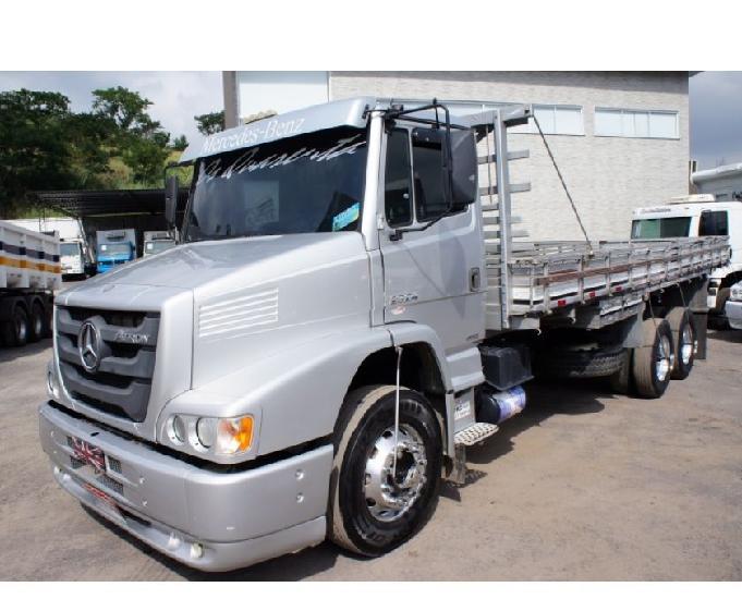 Caminhão mercedes-benz 2324 truck carroceria 2014