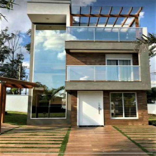 Casa 120 m² 3 dormitórios, suite condomínio fechado