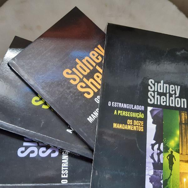 Combo de livros sidney sheldon