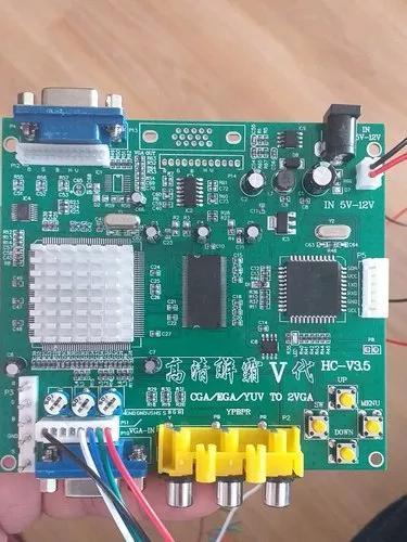 Gbs-8220 - conversor rgb/cga/ega/yuv para vga