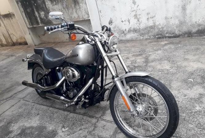 Harley davidson softail fx 1.600 cc ano 2007 em ótimo