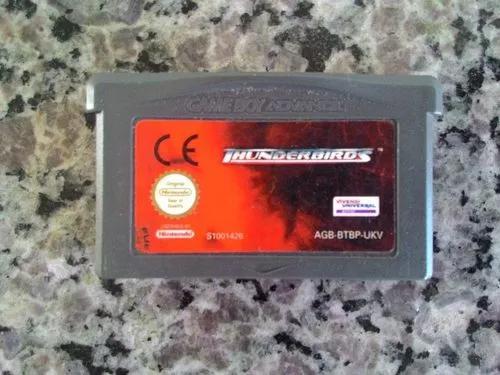 Jogo Thunderbirds Do Game Boy Advance / Gba (original)