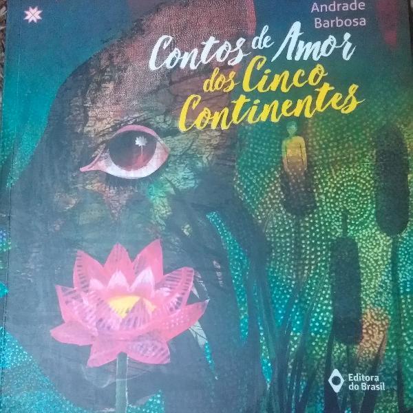 Livro contos de amor dos cinco continentes