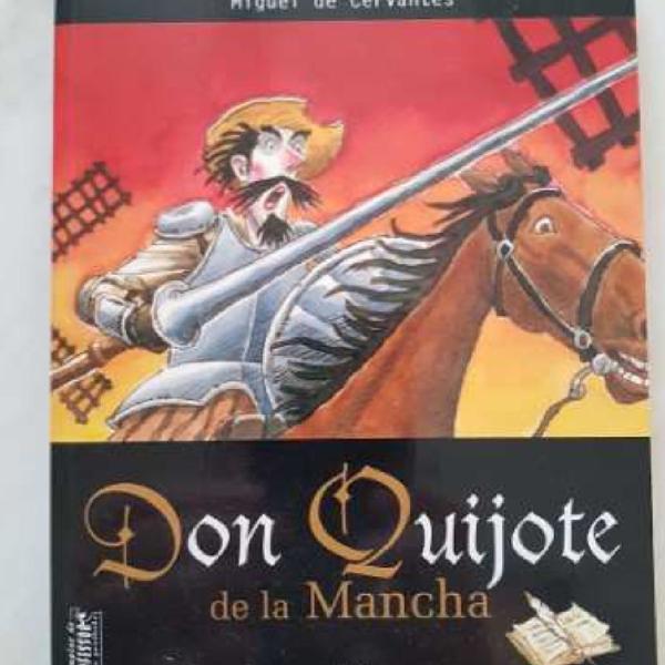 Livro: don quijote de la mancha - miguel de cervantes