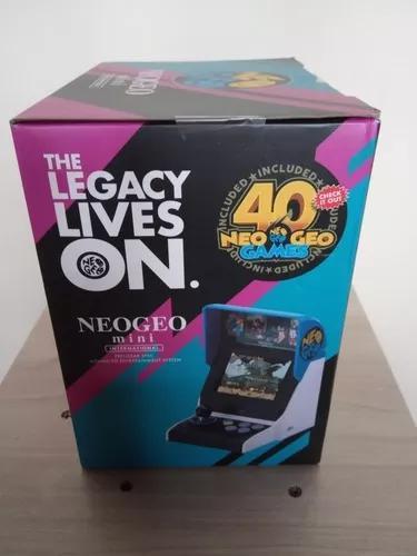 Neo geo arcade mini internacional fliperama