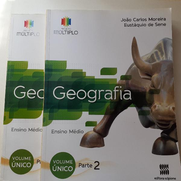 Projeto múltiplo geografia. parte 1 e 2. autores joão