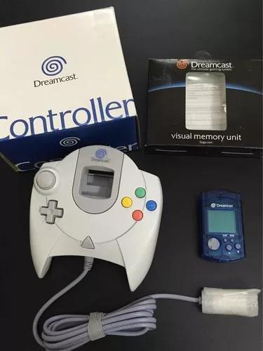 Sega controle dreamcast e vmu