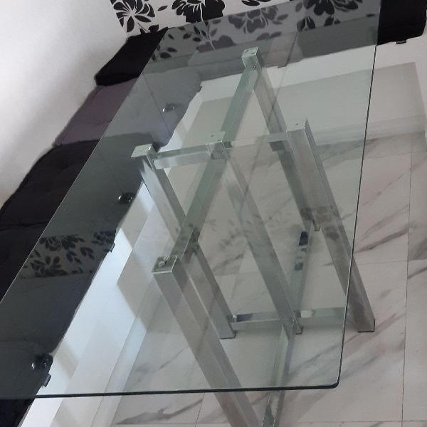 Tampo de vidro mesa