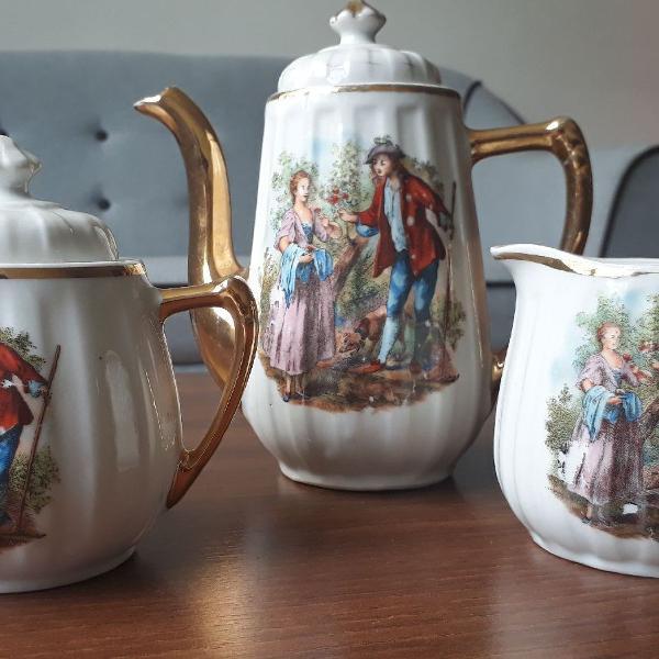 Conjunto café chá