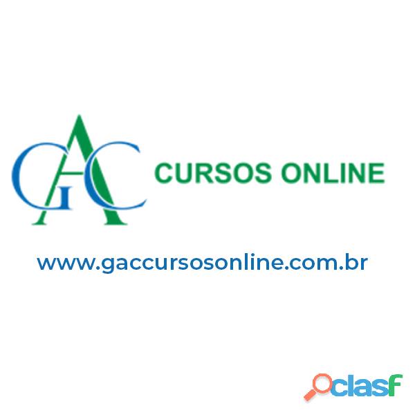 Cursos online com certificado | inscreva se agora | gac cursos online