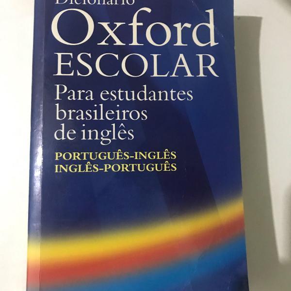 Dicionário oxford inglês