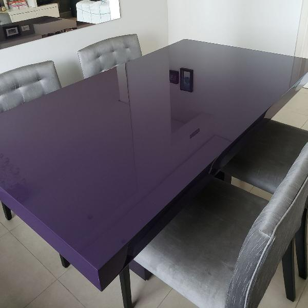 jogo mesa e cadeiras jantar