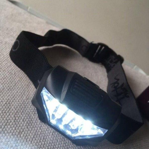 Lanterna de cabeça led para corrida noturna