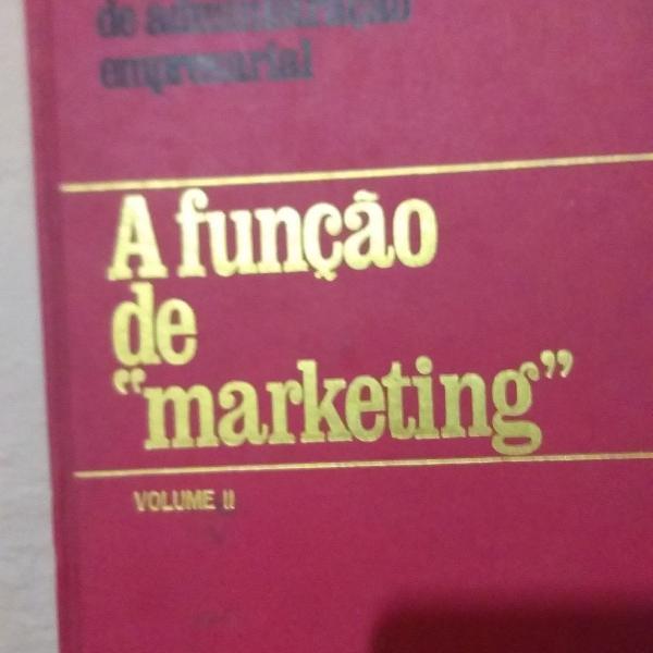 livro a função do marketing