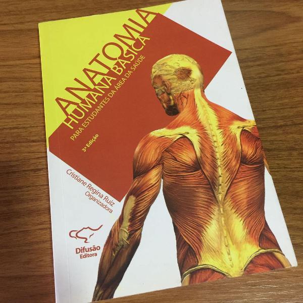 Livro anatomia humana básica, 3ª edição