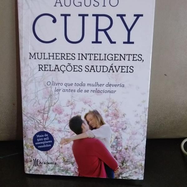 Livro mulheres inteligentes, relações saudáveis - augusto