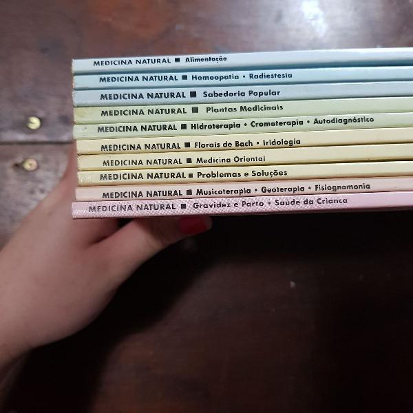 Livros medicina natural!