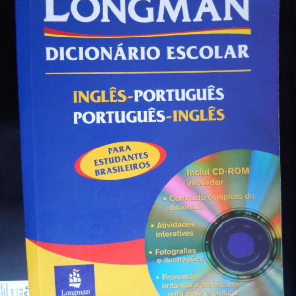 Longman dicionário português inglês