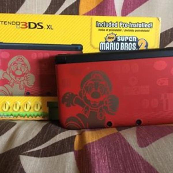 Nintendo 3ds xl edição de colecionador