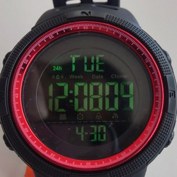 Relógio esporte a prova dágua