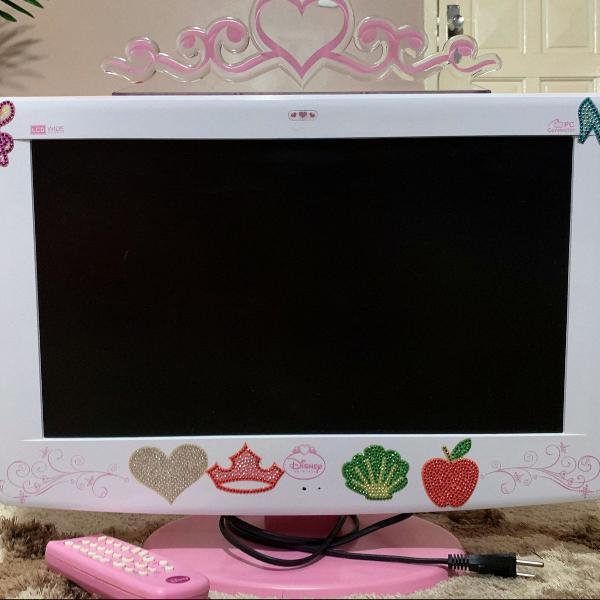 Tv monitor lcd 18,5 princesas disney