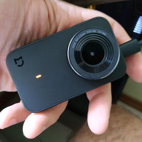 Xiaomi mijia mini câmera de ação 4k 30fps