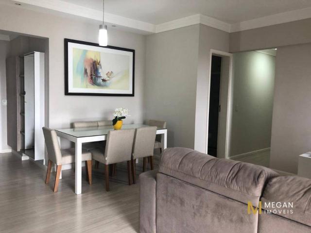 Apartamento mobiliado com 2 dormitórios para alugar, 74 m²