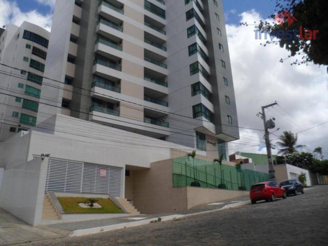 Apartamento com 2 dormitórios para alugar, 63 m² por r$