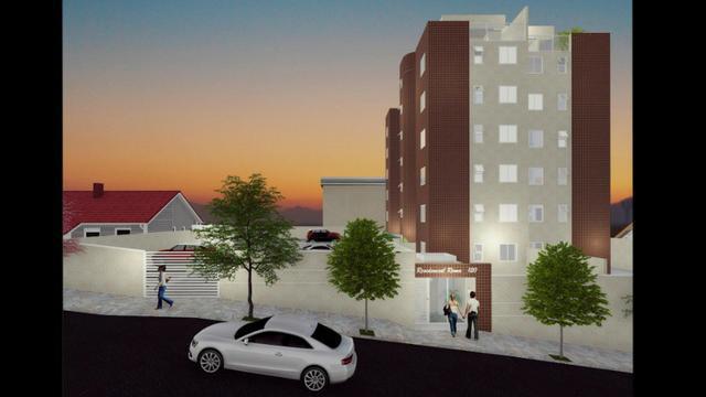Apartamento em construção - b: santa mônica - 2 qts - 1