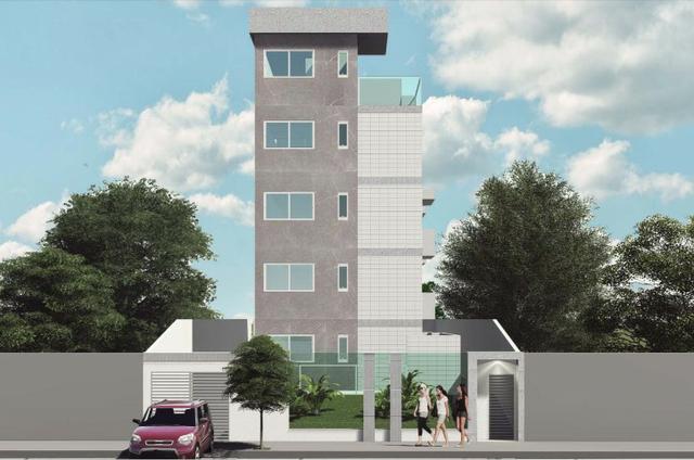 Apartamento em obras c/ área privativa - bh - b. santa